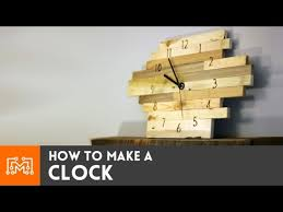 how to make a clock youtube