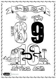 Parshat Bo Coloring Page Click On To Print