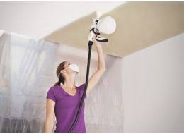 Using A Paint Sprayer For Ceilings by How To Paint Ceilings U0026 Walls With A Paint Sprayer Help U0026 Ideas
