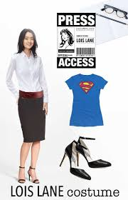 Famous Halloween Characters List by Lois Lane Costume Shopping List What You Need For Your Superhero