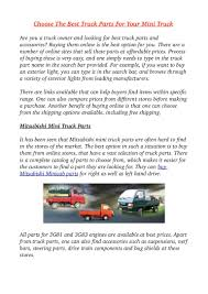 Choose The Best Truck Parts For Your Mini Truck Freightliner Celebrates Its 75th Anniversary Mavin Truck Centre Tailgate Components 1999 07 Chevy Silverado Gmc Sierra In 2010 Air Hydraulic Truck Parts By Ss Parts Jmg Sons Added A New Mitsubishi Accsories At Cv Distributors Floodwaters Bring Warnings Of Damaged Transport Mickey Bodies Inc Is Familyowned And Auto Brake Ling Air Heavy Duty Remanufacturing Yields Future Growth Market Unique Business Model High Quality Turkish Made Spare For Scania Trucks Manufacturer