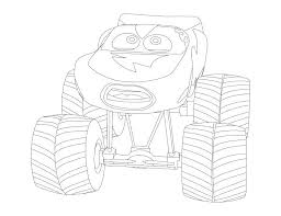 Lightning Mcqueen Coloring Pages Cars 2 Printable Pdf Monster