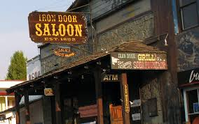 150 Years of Slinging Drinks A Visit to the Iron Door Saloon