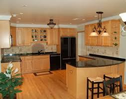 Extraordinary Kitchen Ideas Light Oak Cabinets
