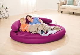 Intex Inflatable Sofa Corner by Intex Ultra Daybed Indoor Outdoor Inflatable Air Lounge Bed Airbed