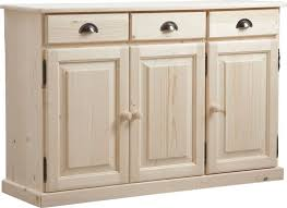 meuble cuisine 3 portes 3 portes 3 tiroirs en bois brut