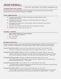 Lpn Resume Examples Free Templates