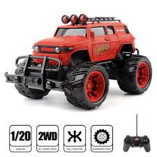 1/20 RADIO REMOTE Control Monster Truck RC Car Jeep Vehicle Off Road ...