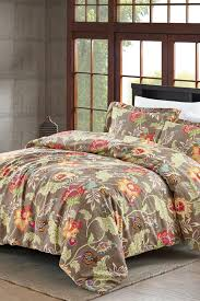 Kenneth Cole Bedding by Nmk Hopeless Romantique Jacobean Comforter Set Weathered Flax