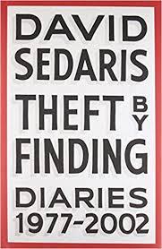Amazon Theft By Finding Diaries 1977 2002 9780316154727 David Sedaris Books