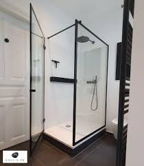 boxsidian clear duschtrennwand shower enclosure