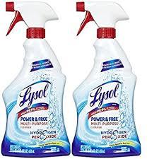 amazon com lysol multi purpose cleaner w hydrogen peroxide