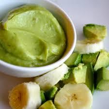 Avocado Banana Babyfood Recipe Baby Foods Baby Food Recipes