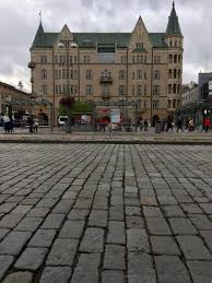 Cobblestone Streets Of Central Tampere