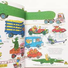 100 Go Cars And Trucks And And Things That By Richard Scarry