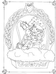 Strawberry Shortcakes Birthday Party Colouring Book