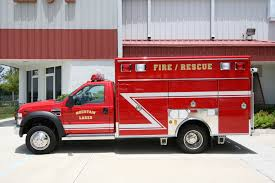 100 Emergency Truck Light Rescue Response Mnt Lakes Vol Fire Dept EVI