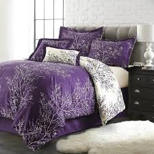 Wongs Bedding Purple Bedding Sets Tree Branch Duvet Cover Bed Set