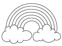 Color Rainbow Coloring Pages