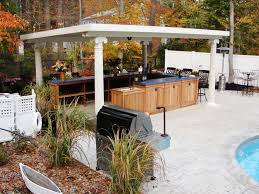Small Kitchen Remodel Ideas On A Budget by Outdoor Kitchen Doors Pictures Tips Expert Ideas Hgtv In Outdoor