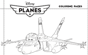 Disney Planes Free Movie Coloring Pages