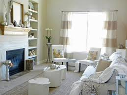 View In Gallery Alicia Roothoff Thrifty And Chic Neutral Fall Living Room Decor