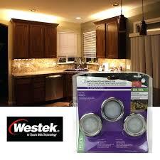 silver puck lights compressed westek cabinet lighting parts