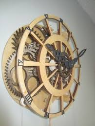 7 free wooden gear clock plans for you eccentric
