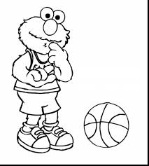 Wonderful Elmo Printable Coloring Pages For Kids With Page And