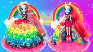 Rainbow Dash Cake Equestria Girls My Little Pony Cake