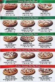 Pizza Cottage Menu Menu for Pizza Cottage Royapettah Chennai