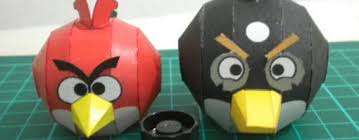 Angry Birds Papercraft