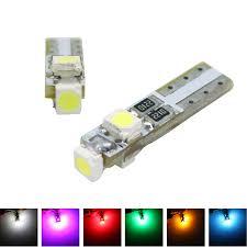 car auto t5 dashboard wedge light led bulb indicator light 3