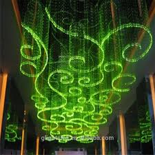 Fibre Optic Ceiling Lighting by Fiber Optic Chandelier Pendant Lamp Ceiling Light For Lobby Buy