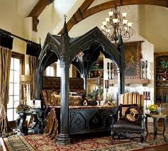 Gothic Style Bedroom Decorating Ideas
