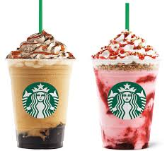 Starbucks Launches Caramel Triple Coffee Jelly Frappuccino And Strawberry Cheesecake