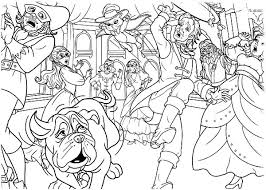 Barbie Three Musketeers Chaos In The Ballroom Coloring Pages