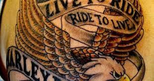 Live To Ride Biker Tattoo Meet Local Bikers At Bikerdatingsite