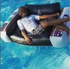 Star Trek Captains Chair by Star Trek Captain U0027s Chair Pool Float Bigmouth Inc