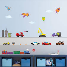 100 Fire Truck Wall Decals Car And Train Multi Peel And Stick Removable