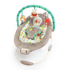 Disney Baby Winnie The Pooh by Disney Baby Winnie The Pooh Dots And Hunny Pots Bouncer With Bonus