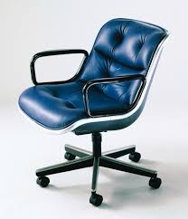 Knoll Pollock Chair Used by Executive Office Desk Chair Designed By Vincent Cafiero For Knoll