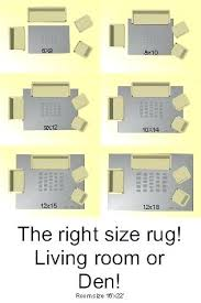 Area Rug Size Chart What Fits Best In Your Living Room