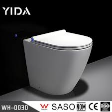 sanitary ware toilets bowl with built in bidet shower cabin