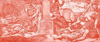 Plague In Phrygia Engraving By M Raimondi After Raphael Af Wellcome