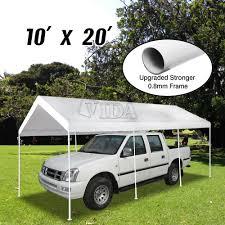 100 Ebay Commercial Truck Patio 10x20 Feet Heavy Duty Garage Outdoor White Carport Car Shelter
