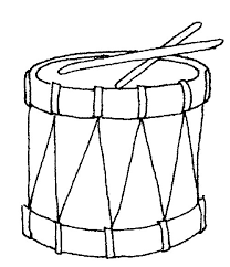 Free Coloring Pages Of Drum