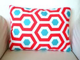 Red Decorative Lumbar Pillows by Outdoor Lumbar Pillow Cover Throw Cushion Turquoise Aqua