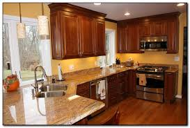 Paint Colors For Cabinets In Kitchen by How To Coordinate Paint Color With Kitchen Colors With Cherry