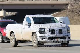 SPIED: Nissan Titan Regular Cab Work Truck Nissan Titan 65 Bed With Track System 62018 Truxedo Truxport Trucks For Sale In Edmton 2017 Crew Cab Pricing Edmunds Sales Are Up 274 Percent Over Last Year The Drive 2018 Titan Xd Truck Usa New For Warren Oh Sims 2016nisstitanxd Fast Lane Used 2012 4x4 Crewcab Sl Accident Free Leather Preowned 2013 Pro4x Pickup Cicero 2016 Titans Turbo Diesel Might Be Unorthodox But Its Review Autoguidecom News Partners With Cummins Diesel